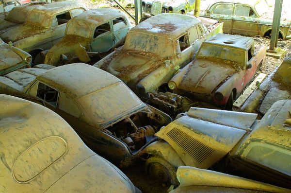 10 Abandoned Car & Vehicle Graveyards of the World