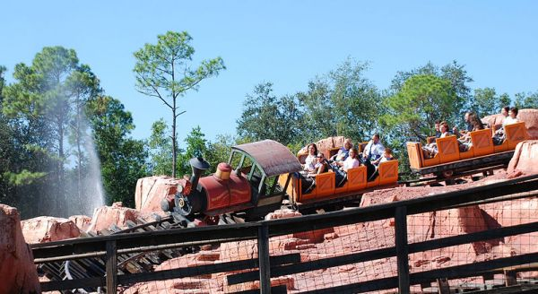 A Health Benefit of Riding Roller Coasters