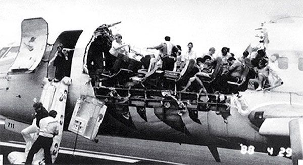 Plane wreck the airline industry in