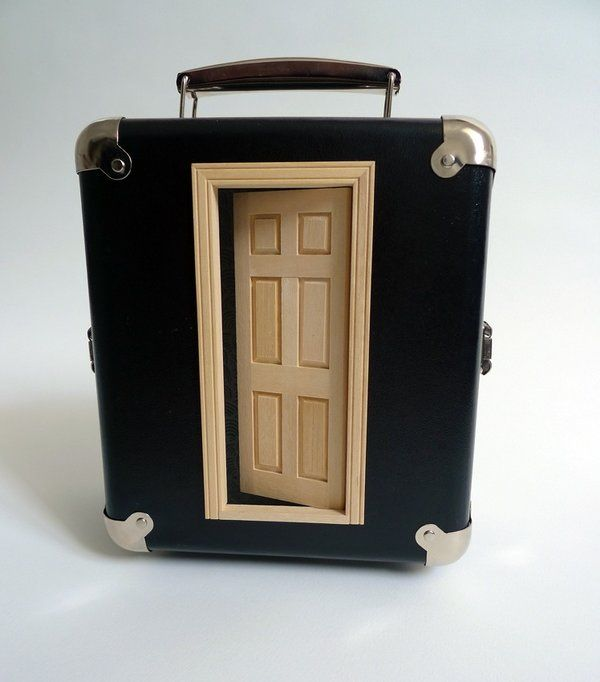 suitcase hotel