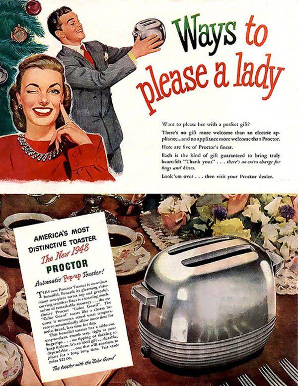 8 Bizarre Vintage Christmas Ads - Neatorama