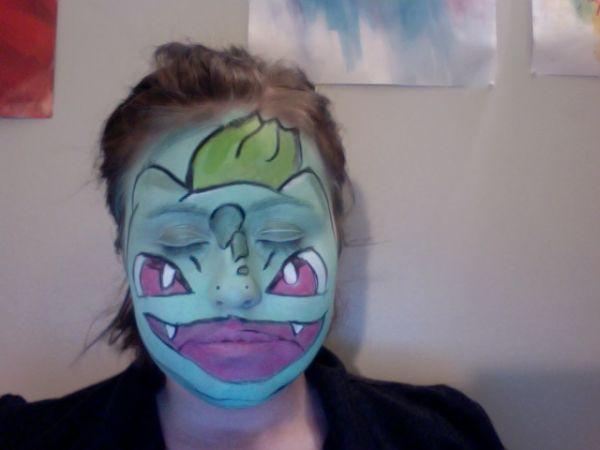 Colorful Anime Face Paint Neatorama