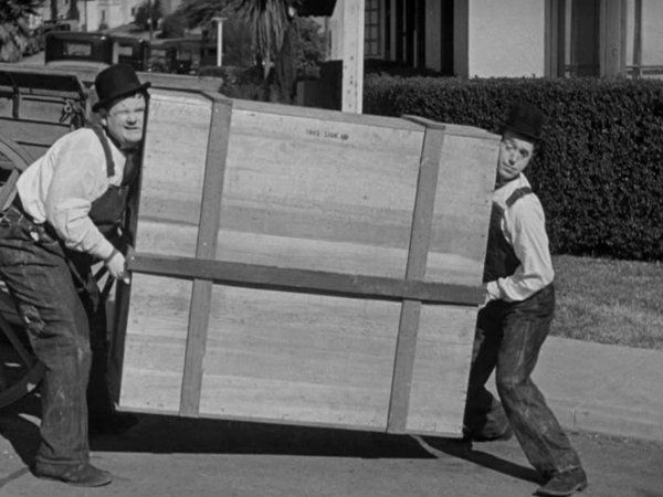 The Music Box Laurel And Hardy S Oscar Winning Short