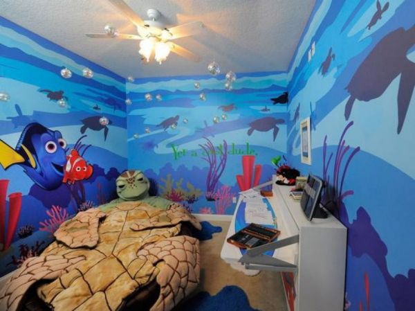 10 Awesome Disney Inspired Kids Rooms Neatorama