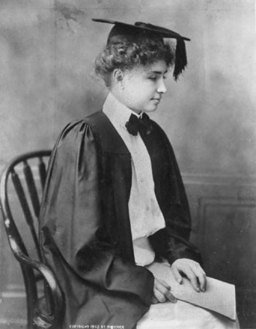 Helen Keller: Vaudeville Star - Neatorama