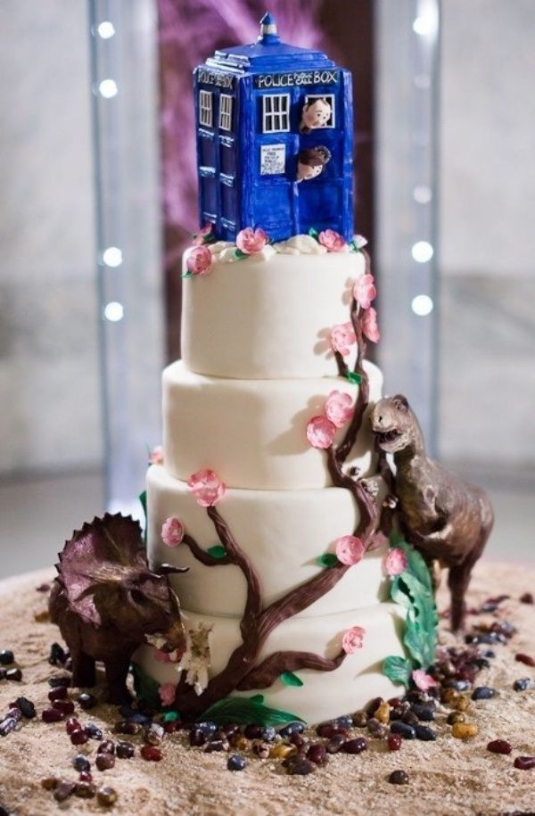 Dinosaurs On The Wedding Cake Neatorama