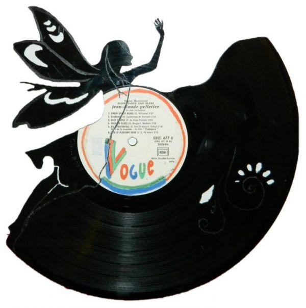 Vinyl Record Sculptures Neatorama