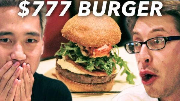 Guys Taste Test A $4 Burger And A $777 Burger To See How They Measure Up