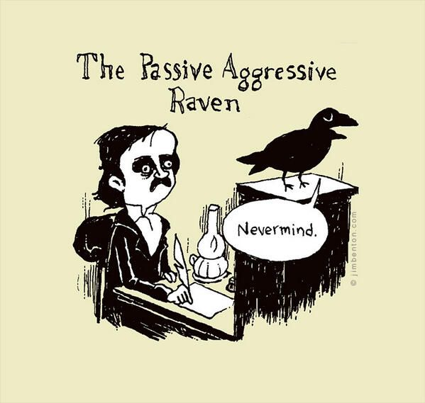 thesis statement for the raven and edgar allan poe