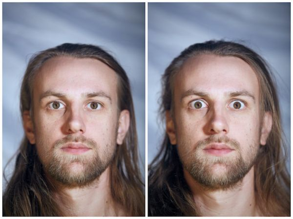 Photo Series Reveals How Our Facial Expressions Change When We Get Undressed