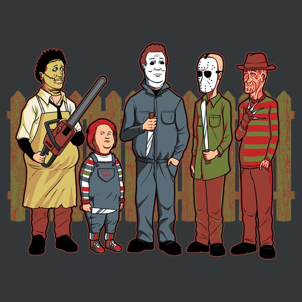 these 30 horror themed tshirts are a real scream and