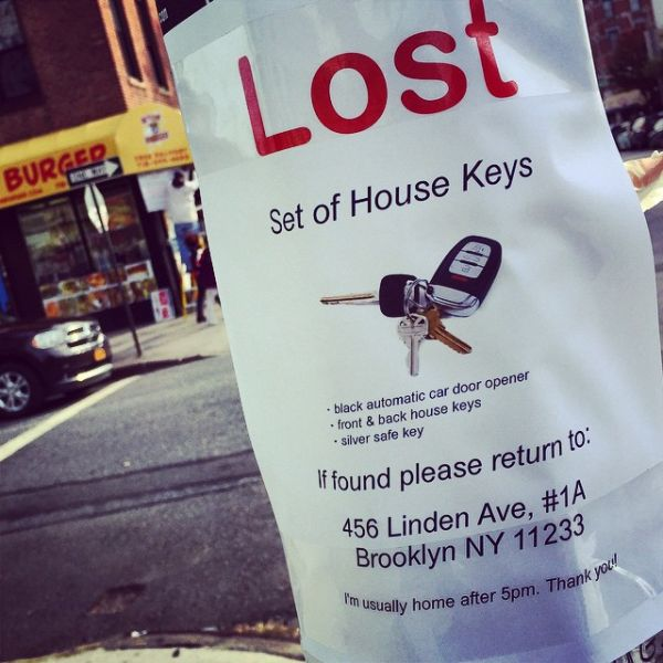 Comedian Posts Bogus Quot Lost Missing Wanted Quot Signs Across