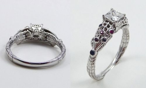 Skull Wedding Rings 61 Beautiful We uve shown plenty