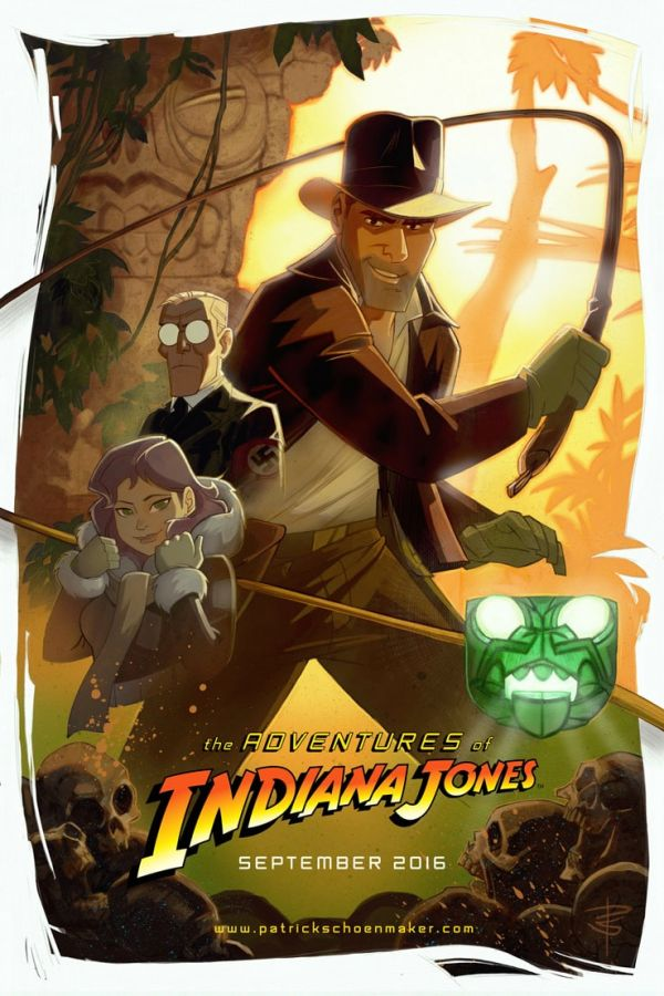 Animated Indiana Jones Fanfilm