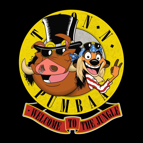 bd44fdd0dad5 ... Grub Pumbaa: A Wild Collection Of NeatoShop Shirts Featuring Animals