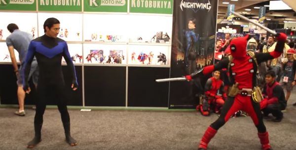 Dead pool vs. Comic Con