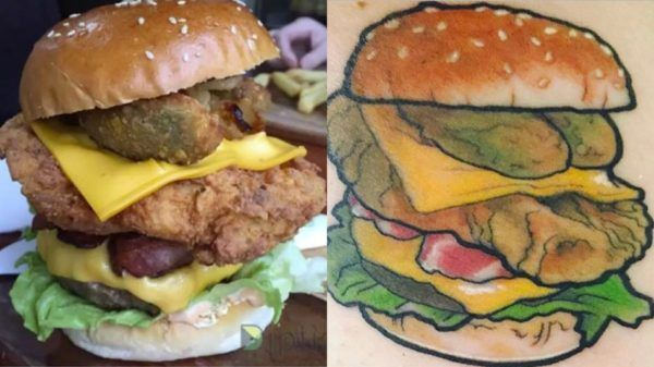 Get A Tattoo, Get Free Burgers For Life