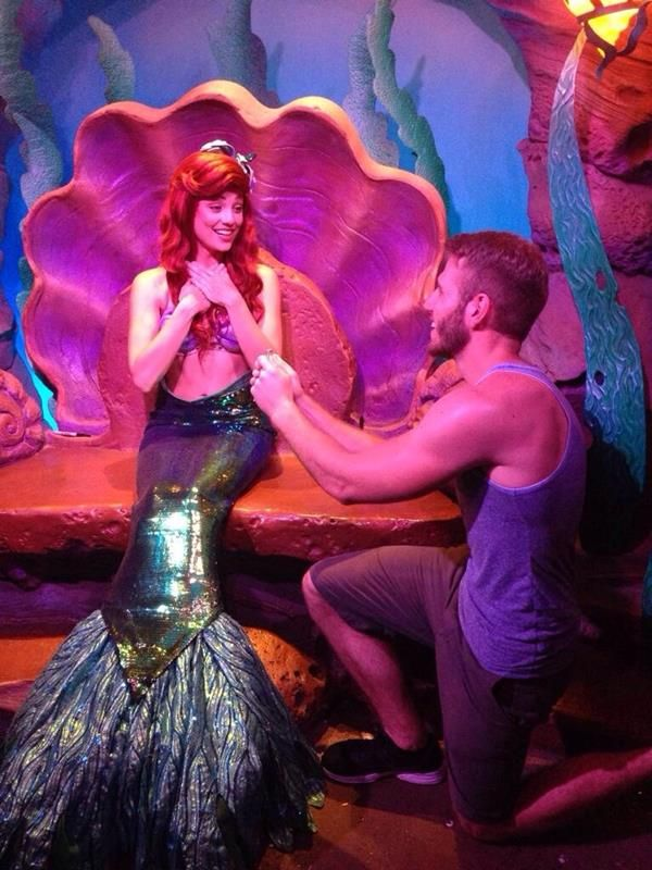this guy proposed to 5 disney princesses and 1 villain