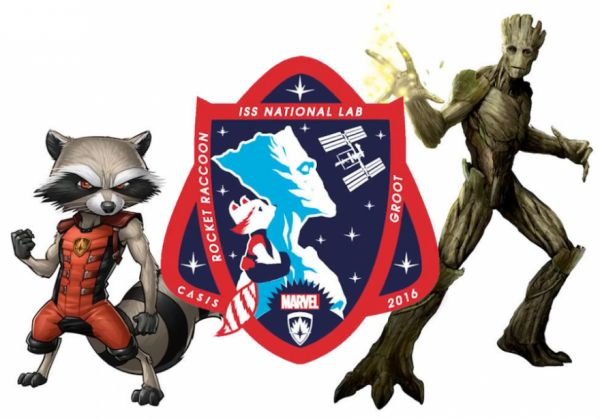 Guardians of the Galaxy Characters Will Appear on NASA Mission Patch