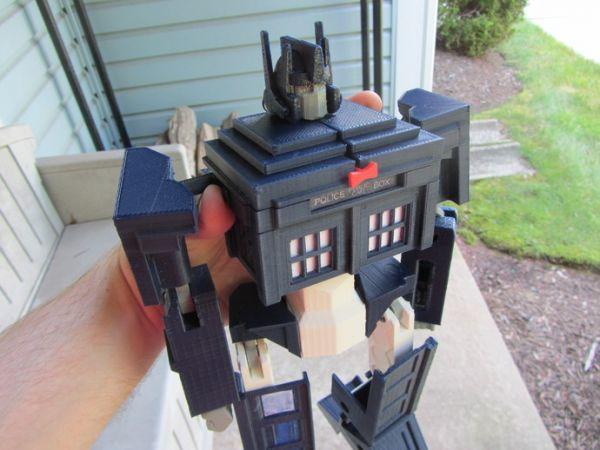 Tardis Optimus Prime Transformer Neatorama