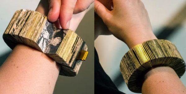 Rembrandt book bracelet