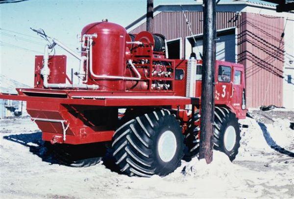 Antarctic firetruck