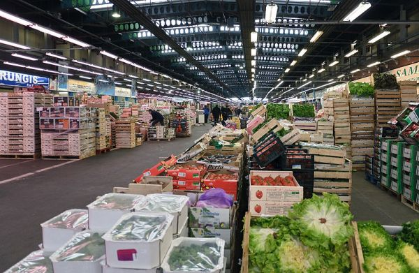 The gigantic secretive market where france s top chefs for Wholesale fish market near me