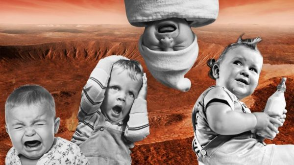 Having Babies on Mars Is Going to Be a Titanic Challenge