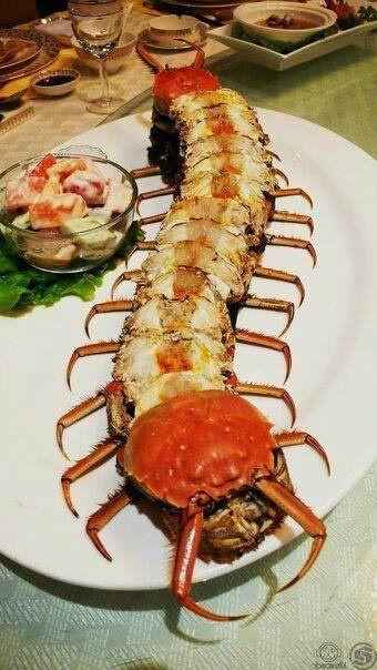 Centipede Crab - Neatorama