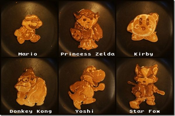 Nintendo pancakes