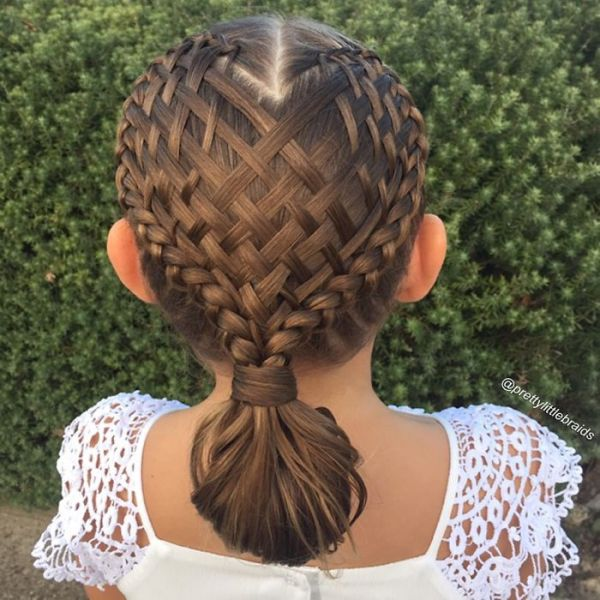 Amazing Every Day This Mom Gives Her Little Girl Incredible Braids Short Hairstyles For Black Women Fulllsitofus