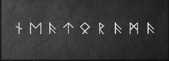 Nova write your name in runes