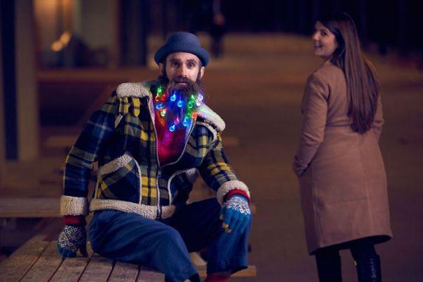 Beard Lights for the Ultimate Hipster Christmas - Neatorama