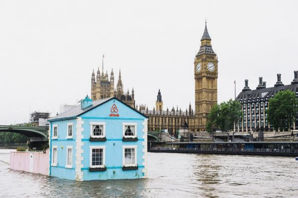 Airbnb is offering an increasingly unusual if not eccentric range of  property rentals  including a Super Mario Bros  themed apartment  a hotel  room at the. You Can Rent This Complete 2 Bedroom House That Floats along the