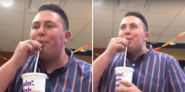 Guy Busts Out A Dubstep Beat Using Only His Mouth And A McDonald's Soda