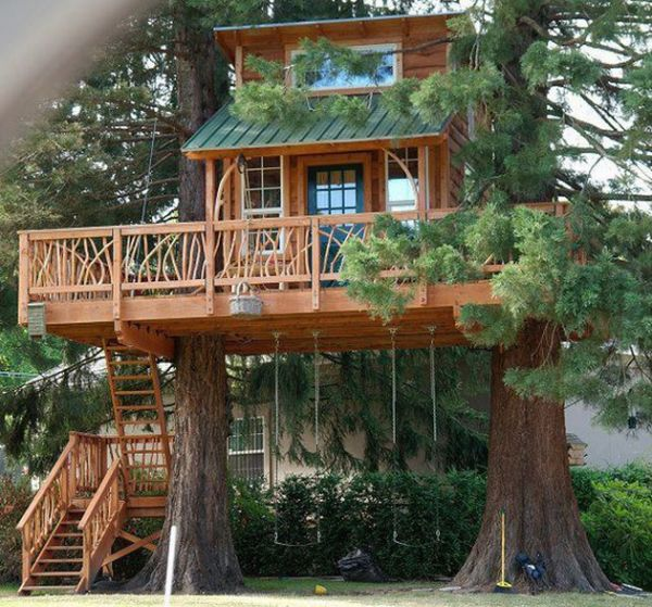 10 Kids Treehouses That Go Well Beyond Treehouses