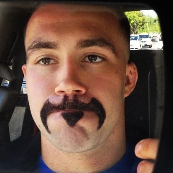 Batman mustache