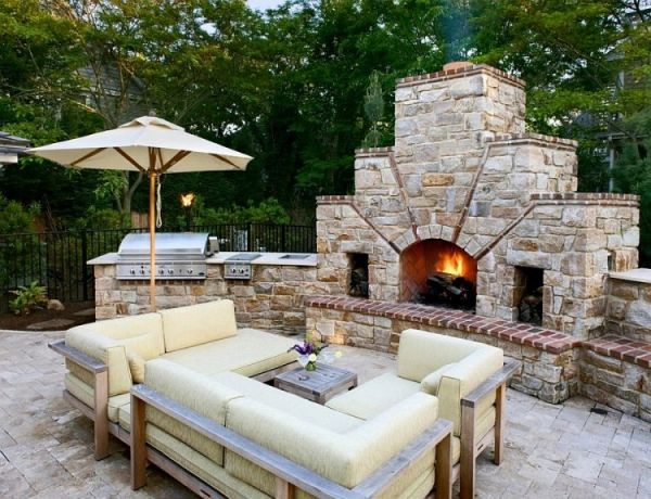 "An outdoor fireplace is akin to what we once called ""barbecue pits"" (or even ""bonfires"") except that they are sturdy and attractive and make your neighbors jealous -unless the reason you got one is because the neighbors already did. If you have the money to spend"