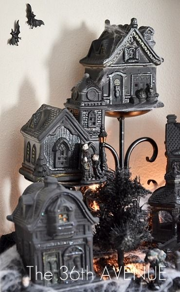 see 12 easy dollar store halloween decorations here and halloween dollar store craft halloween pumpkin centerpiece here - Halloween Decorations Store