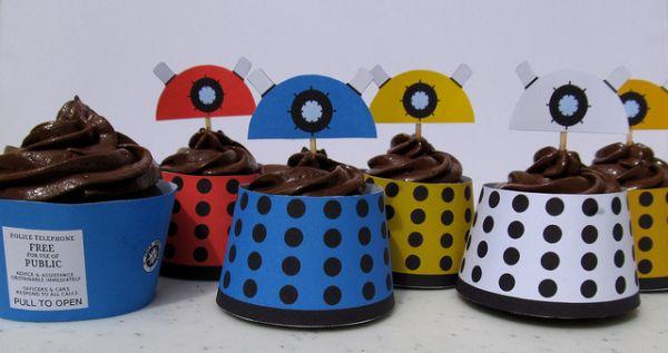 dalek cakes