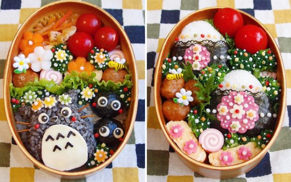 Japanese Instagrammer Creates Beautiful Pop Culture Bento Boxes For Husband - Neatorama & Japanese Instagrammer Creates Beautiful Pop Culture Bento Boxes ... Aboutintivar.Com