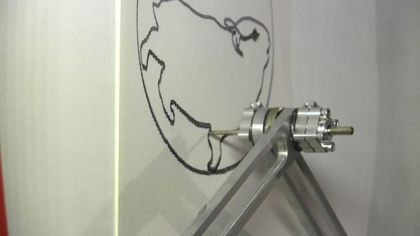 A Hamster Powered Machine That Draws Pictures Of Hamsters