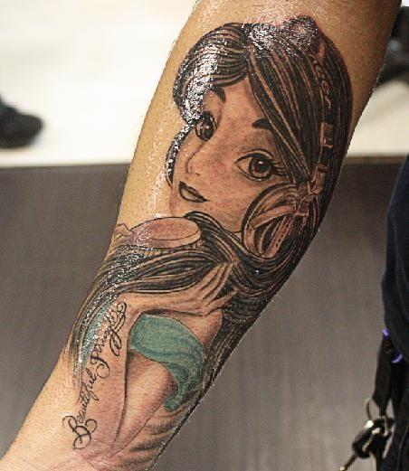 35 totally magical disney tattoos neatorama for Aladin tattoo salon