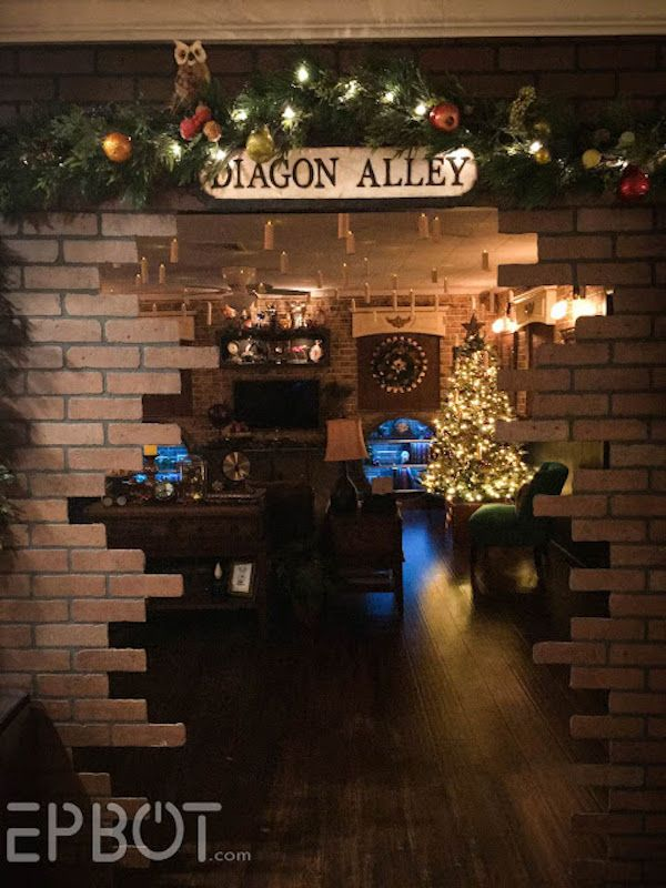 This Harry Potter Christmas Party Is Truly Magical Neatorama