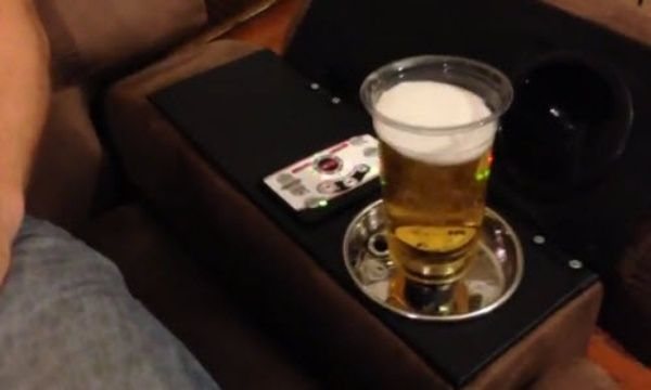 Armchair Features Automatic Beer Dispenser Neatorama
