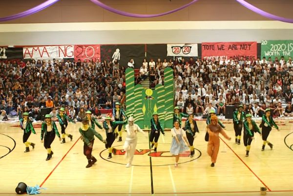<i>Wizard of Oz</i> Homecoming Assembly