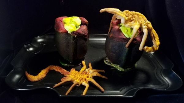 Alien Facehugger Pudding Cups