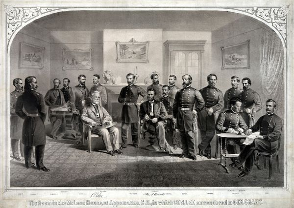 The gentlemans agreement that ended the civil war neatorama the 150th anniversary of the end of the civil war is tomorrow on april 9 1865 generals grant and lee met at the village of appomattox court house in platinumwayz