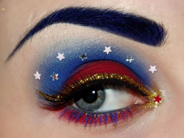 Superhero Eye Makeup - Neatorama