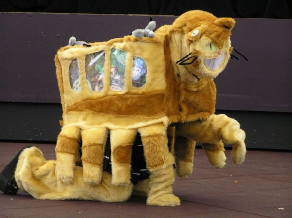 Catbus Cosplay...You're Doing It Wrong - Neatorama